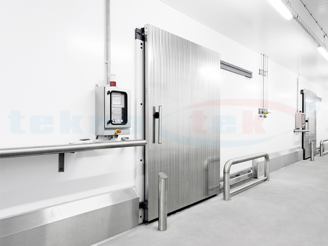 industrial cold room doors