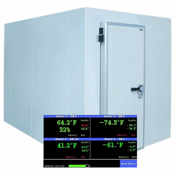 Features of Remote Monitoring System for Cold Room